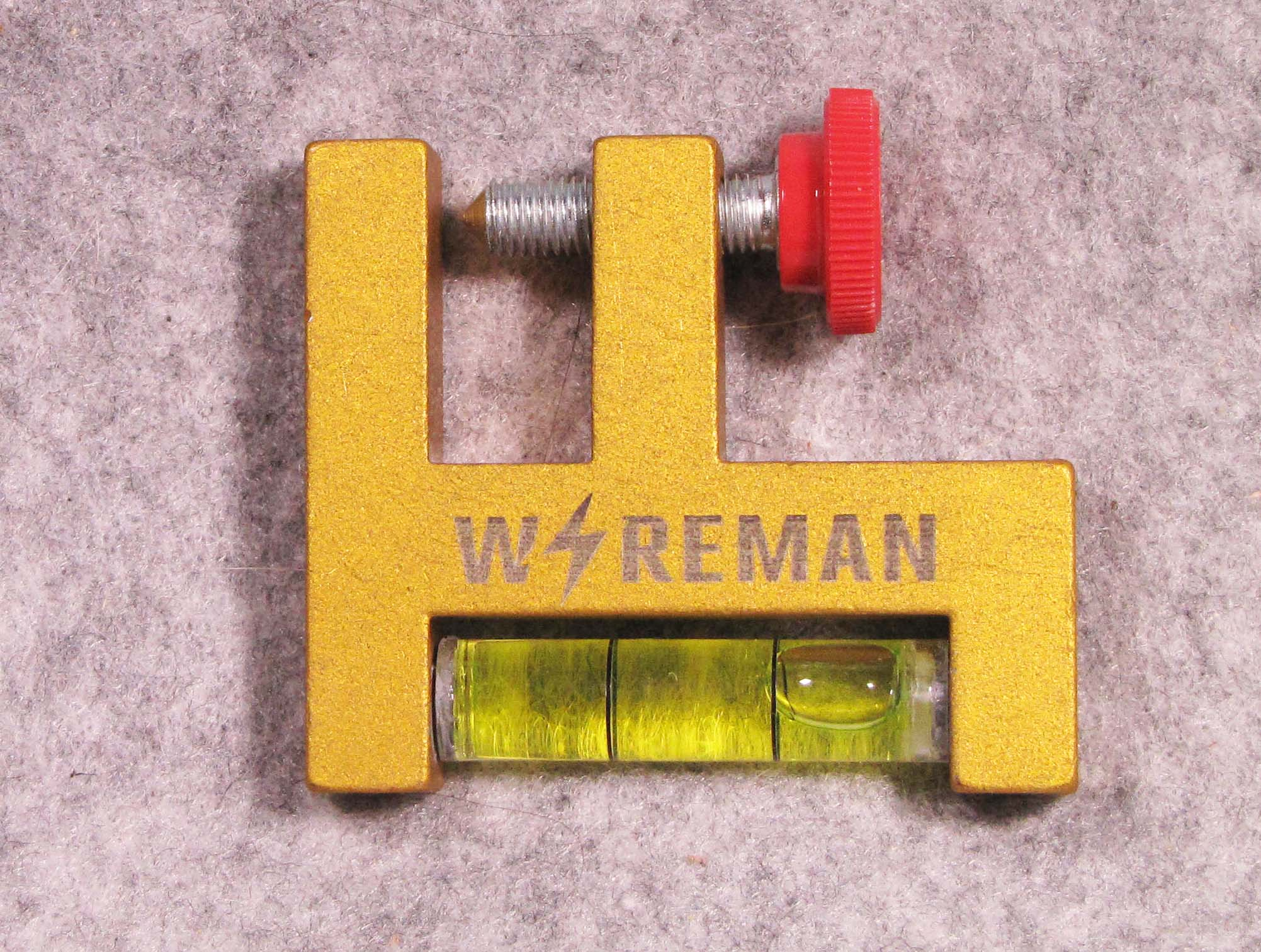 Wireman Logo on Ventura Offset Level
